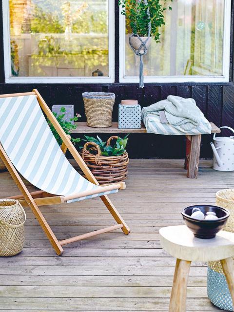 C mo decorar tu porche este verano for Decorar porche ikea