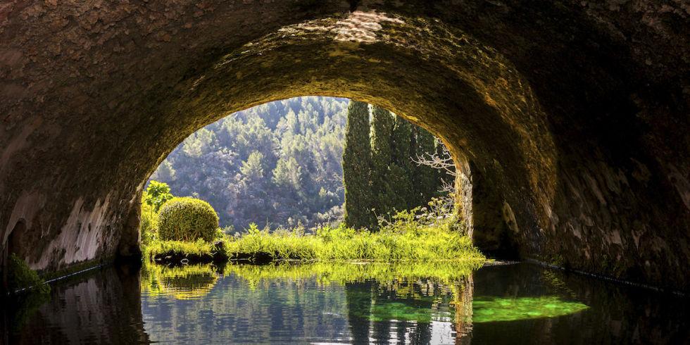 Imagen de los Jardines de Alfabia